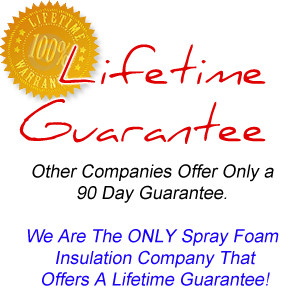 Spray Foam Guarantee
